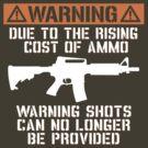 Funny - No Warning Shots by robotface