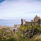 Ireland Panorama - Dunluce Castle by lesslinear