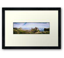Ireland Panorama - Dunluce Castle Framed Print