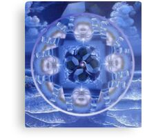The Blue Pearl Metal Print