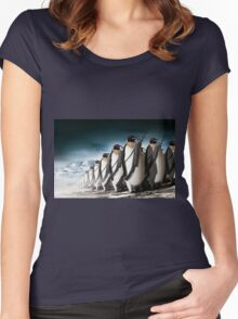 Penguin Army Women's Fitted Scoop T-Shirt