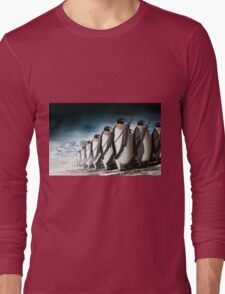 Penguin Army Long Sleeve T-Shirt
