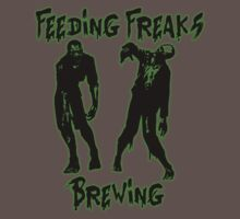 Feeding Freaks Brewing Green Logo One Piece - Short Sleeve