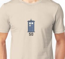 Doctor Who 50th Anniversary Pixel Tee Unisex T-Shirt