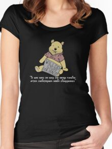 Winnie the Addict Women's Fitted Scoop T-Shirt