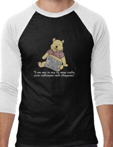 Winnie the Addict Men's Baseball ¾ T-Shirt