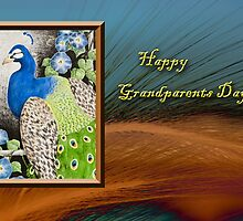 Grandparents Day Peacock by jkartlife