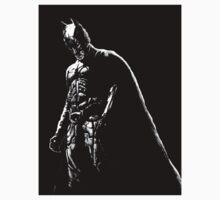 The Dark Knight (black background) Kids Clothes