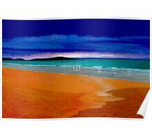 Culbin Sands, Uist - Scotland Poster