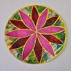 Gelli Print Flower 1 by ShellsintheBush