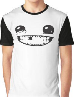 SUPER MEAT BOY FACE Graphic T-Shirt
