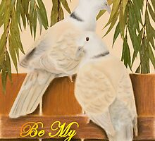 Be My Valentine Doves by jkartlife