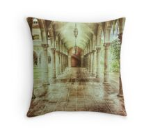 Courtly - a.k.a. Walk This Way Throw Pillow