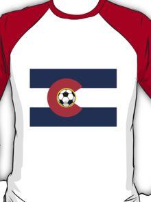 Colorado Soccer Flag T-Shirt