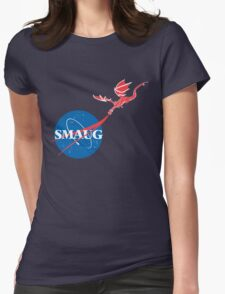 """Smaug """"Meatball""""  Womens Fitted T-Shirt"""