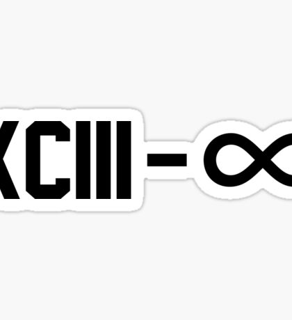 XCIII – ∞ Sticker