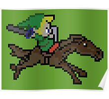 Link and Epona Poster