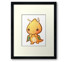 Cute Dragonite Framed Print
