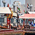 Boats in Dubai by Gustavo Bernal