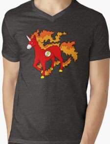 Rapiflash Mens V-Neck T-Shirt