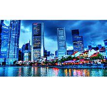 Singapore River , Urban Landscape Photographic Print