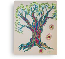 Glowing in Serenity Tree Canvas Print