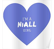 Niall Girl ( One Direction ) Poster