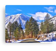 Going Home For The Holidays Canvas Print