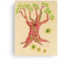 Joy of Serenity Tree Canvas Print