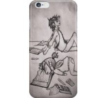 Homework iPhone Case/Skin