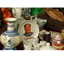 Collectables Stall Photographic Print