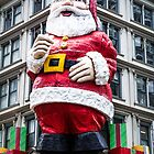 giant santa - greeting card by davidprentice