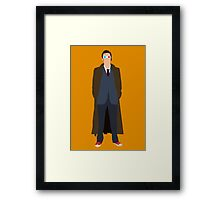 Vector David Tennant (Alternate) Framed Print