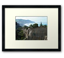 Cathedral Cliffs, Gore Bay Framed Print