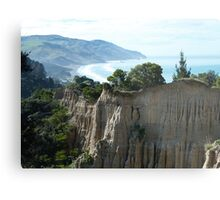 Cathedral Cliffs, Gore Bay Metal Print