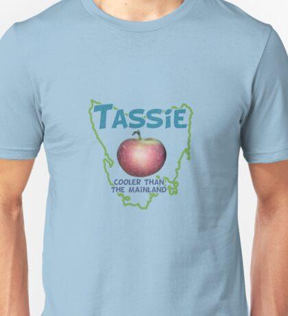 Tassie - Cooler than the Mainland Unisex T-Shirt