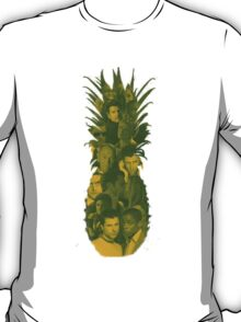 Pineapple Outline Psych Cast T-Shirt