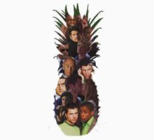 Pineapple Outline Psych Cast w/o Gradient by SarahJane221B