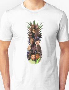 Pineapple Outline Psych Cast w/o Gradient T-Shirt