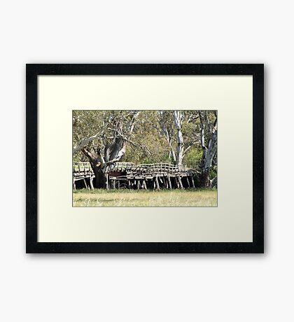 Old Bridge - out of action Framed Print