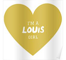Louis Girl ( One Direction ) Poster