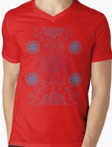 Snowflake 4 Mens V-Neck T-Shirt