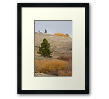Kenosha Pass Autumn Framed Print
