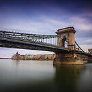 Chain Bridge (Széchenyi Lánchíd) in Budapest by Zoltán Duray