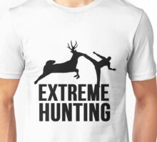 Extreme Hunting Deer Karate Kick Unisex T-Shirt