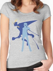Persona 4: Naoto  Women's Fitted Scoop T-Shirt