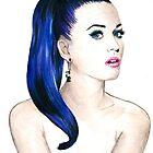 Katy Perry Sketch by Tiffany Taimoorazy