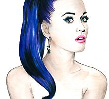 Katy Perry Sketch by Tiffany Taimoorazy