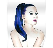 Katy Perry Sketch Poster