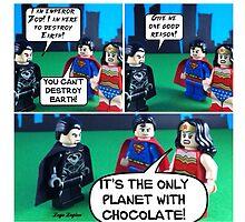 The Earth Has Chocolate! by LegoLegion